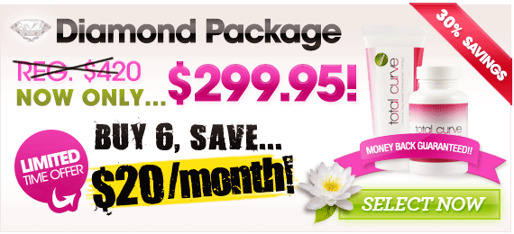 Order The Diamond Package Of  Total Curve Now & Save!